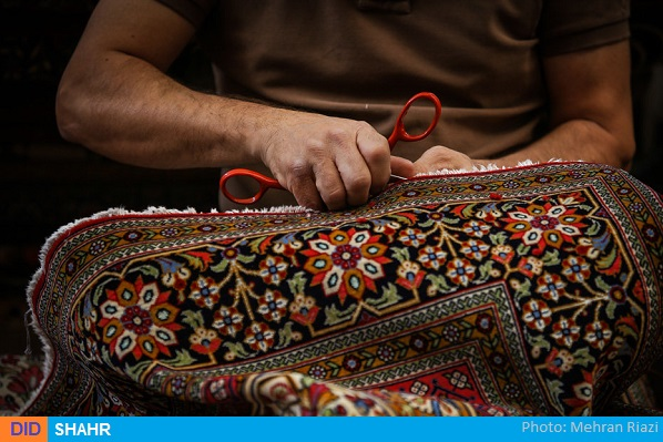 صنایع دستی-قالی بافی