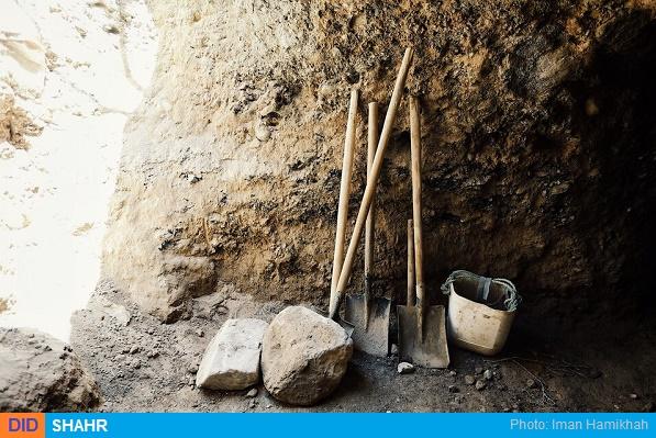 حفاری عتیقه باستانی