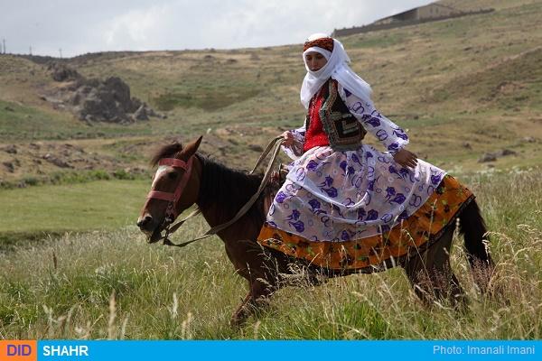 اسب سواری زن عشایر