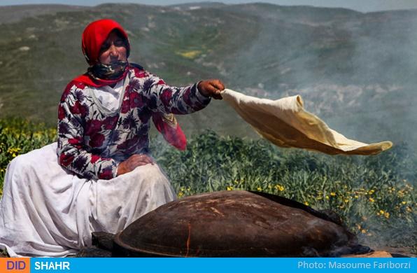 نان ساج عشایر