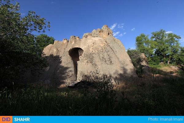 دخمه روستای قوزلو کوثر